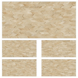 Orchis Matt Pattern Beige Porcelain 30X60cm Anti Slip Exterior Commercial Wall Floor Tile