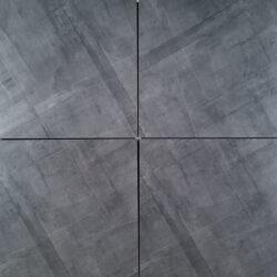 Dappled Grey Textured Porcelain 60X60cm Exterior Garage Wall Floor Tiles