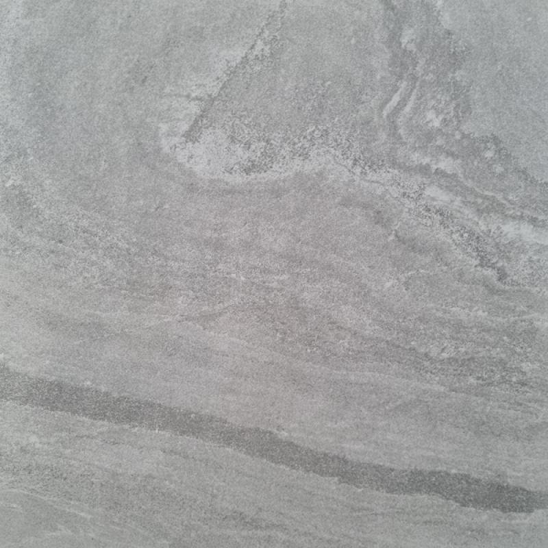 Haze Light Grey Gloss Porcelain 60X60cm Tile